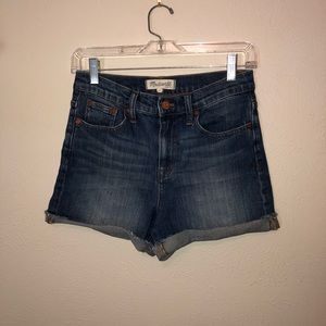 Madewell High-Rise Jean Shorts